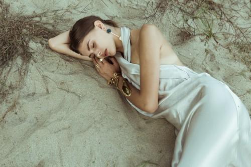 Photographer: Federica Orzingher Stylist: Silvia Maggi Model: Alena Lykhosherstova
